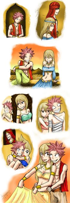 Nalu Arabian Chapter 5 by lovamv.deviantart.com on @DeviantArt