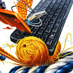 Gouache, Laptop, Dressmaking, Laptops