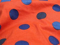 Tissu à pois Bodebo www.lillibulle.com #bodebo #dots