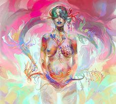 Creative Illustrations by VeroniqueMeignaud | Cruzine