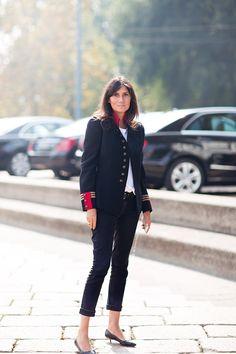 Emmanuelle Alt - Stockholm Streetstyle