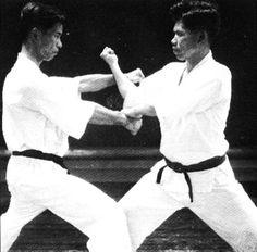 """Yoshitaka """"Gigo"""" Funakoshi Jka Karate, Shito Ryu Karate, Karate Styles, Kempo Karate, Shotokan Karate, Chinese Martial Arts, Warrior Spirit, Dojo, Kung Fu"""