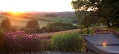 Sunset in Gascony, France