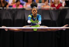 US Olympic Gymnastics Team: 10 Things You Need to Know About Gabby Douglas Us Olympic Gymnastics Team, Artistic Gymnastics, Gymnastics Leotards, Olympic Games, Gymnastics Stuff, Gymnastics Poses, Gymnastics Girls, Usa Olympics, Summer Olympics