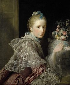 Allan Ramsay 1713-1784, Scotland  The Artist's wife Margaret Lindsay of Evelick c. 1726-1782