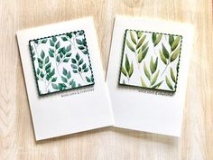 Sympathy handmade card - CAS - Forever Greenery DSP - Stampin' Up! - Fiona Bradley - #cardsconnectus Vine Design, Quick Cards, Joy To The World, My Crazy, Paper Pumpkin, Sympathy Cards, Greeting Cards Handmade, Greenery, Card Stock