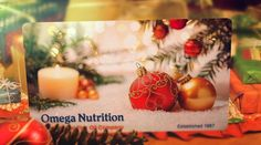 Happy Holidays from all of us at Omega Nutrition