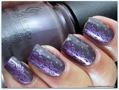 China Glaze Jungle Queen, Harmony (stamping polish) & image plate A60 with matte dots