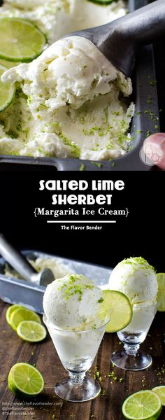 Salted Lime Sherbet
