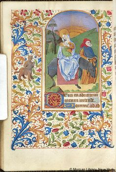 Book of Hours, MS M.161 fol. 65v - Images from Medieval and Renaissance Manuscripts - The Morgan Library & Museum