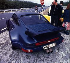 Porsche 935 Turbo by Koenig with goofy taillights