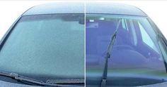 C'est l'hiver et forcément, les matins sont assez froids. Cette année encore, si vous avez une voiture, vous allez devoir faire face à un pare-brise gelé.    Beaucoup de personnes utilisent une raclette pour le pare-brise. C'est