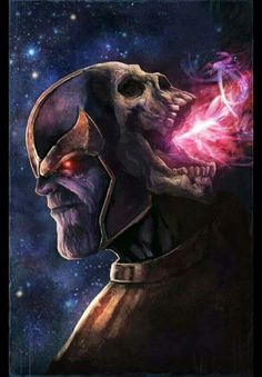 Thanos and Death 💙