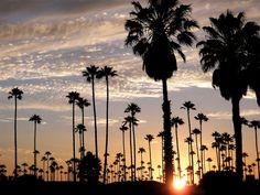 California sunsets...