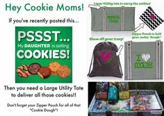 Hooray for Girl Scout cookies! Need help transporting the goods? ;-) #Thirty-One to the rescue!