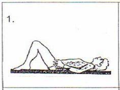 DIZIONARIO DEL BENESSERE VITALE: Prevenire il mal di schiena: 1° esercizio