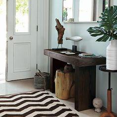 love this chevron rug