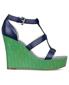 We're going wild for wedges! TOMMY HILFIGER #shoes BUY NOW!