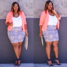 """Instagram media by mskristine - NEW BLOG POST: """"Spring Style"""" featuring @charlotterusseplus! Outfit details on TrendyCurvy.com #iamtrendycurvy #psblogger #psfashion #fashiondiaries"""