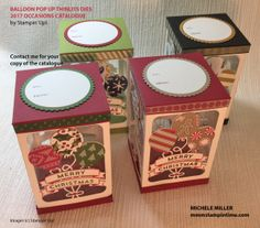 MORE OCCASIONS CATALOGUE CREATIONS … | mmm ... Stampin' Time with Michele