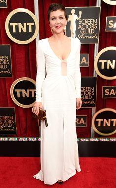 Maggie Gyllenhaal in Thakoon- 2015 SAG Awards