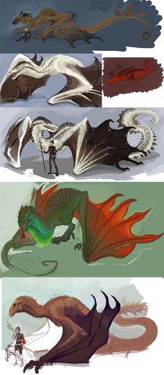 dragon/color/composition/form