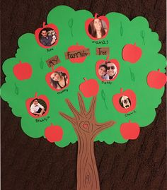 Trendy family tree crafts for kids activities Ideas Diy Family Tree Project, Family Tree For Kids, Trees For Kids, Family Tree Art, Spanish Family Tree, Classroom Family Tree, Preschool Family, Family Crafts, Preschool Classroom