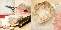 How to make bowls from paper