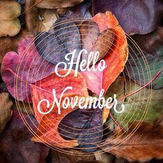 november, hello, and fall image Hallo November, Welcome November, Sweet November, November Month, November Tumblr, November Quotes, November Pictures, November Images, Ios 7 Wallpaper