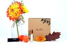 NUOO #beautybox #fall #autumn #vegan #bio #box #organic #natural #nontoxic #beauty #naturalbeauty #organicbeauty #healthy #green #greenchic #fun #colors www.nuoobox.com