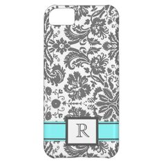 >>>Order          iPhone5 Custom Monogram Grey Aqua Floral Damask iPhone 5C Cases           iPhone5 Custom Monogram Grey Aqua Floral Damask iPhone 5C Cases We have the best promotion for you and if you are interested in the related item or need more information reviews from the x customer who ...Cleck See More >>> http://www.zazzle.com/iphone5_custom_monogram_grey_aqua_floral_damask_case-179676745313355065?rf=238627982471231924&zbar=1&tc=terrest