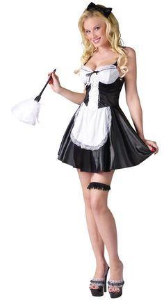 Womens Sexy French Maid Costume Halloween Outfit Dress S Small M Medium L Large French Maid Lingerie, French Maid Dress, French Maid Costume, Sexy Halloween Costumes, Adult Costumes, Costumes For Women, Maid Costumes, Party Costumes, Women Halloween