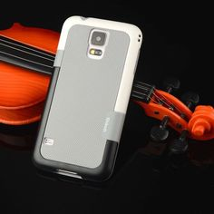 """Candy Double Color ARMOR Soft Hybrid Back Case For Samsung Galaxy S5 SV I9600 G9006V G900 5.1"""" Shockproof Cell Phone Cover Bag"""