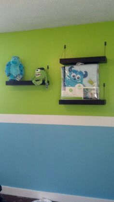 Paint in nursery is done!