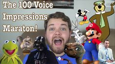 The 100 Voice Impressions Marathon