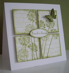 Agapanthus Blocks by Loll Thompson - Cards and Paper Crafts at Splitcoaststampers