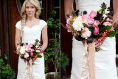 Berry Tones Bouquet by Tinge Floral