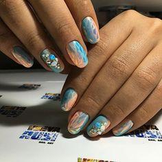Repost from @nailartist_vseyarusi Luxio crush engagement New collection Битое стекло Объемная инкрустация by nail_art_club_