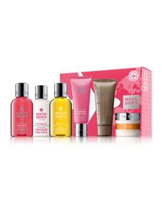 Women\'s+Pink+Pepperpod++Carry-on+Set+by+Molton+Brown+at+Neiman+Marcus.