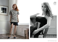Jessica Chastain's InStyle Shoot