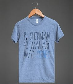 P. Sherman 42 Wallaby Way Sydney. this is too awesome. Disney graphic tee.