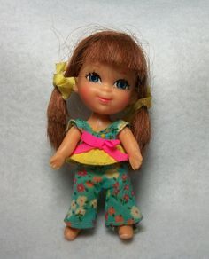 1968 Slipsy Sliddle Liddle Kiddles Doll by Mattel by FeltInMyHeart, $30.00