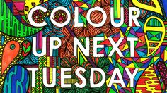 Colour Up Next Tuesday on Kickstarter. A Feminist Colouring Book that invites you to reclaim ugly, derogatory words for the vagina by colouring them in and making them beautiful. #Colouringbook #Feminism #Kickstarter