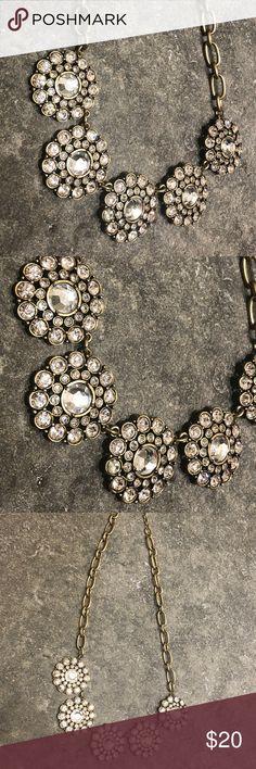 J. Crew Statement Necklace Classic, timeless statement necklace from J. Crew - worn once in a wedding! J. Crew Jewelry Necklaces