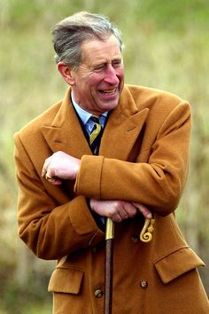 Prince Charles steven Hitchcock polo coat.