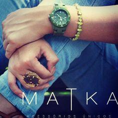 Bom dia! É fã de acessórios? A Matka traz acessórios únicos para você! http://matka.com.br/ #Matka #estilo #acessorio #moda #compraonline #style #lojaonline #jewelry