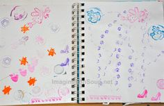 Beginning Art Journaling for Kids