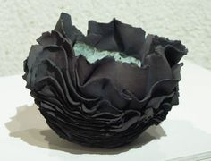 Isabelle LECLERCQ (ceramique) click the image or link for more info. Ceramic Clay, Ceramic Pottery, Sculpture Images, Clay Vase, Black Clay, Pottery Sculpture, Pottery Designs, Pottery Ideas, Paperclay