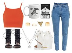 """""""Sem título #195"""" by patricia-1d ❤ liked on Polyvore featuring Topshop, Zimmermann, Vetements, Charlotte Russe, Kenneth Cole and Marc by Marc Jacobs"""