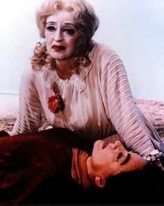 """Joan Crawford & Bette Davis  - """"What Ever Happened to Baby Jane?"""""""
